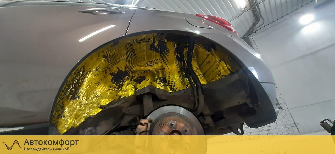 Шумоизоляция арок и подкрылок Nissan Murano Z51 | Ниссан Мурано З51