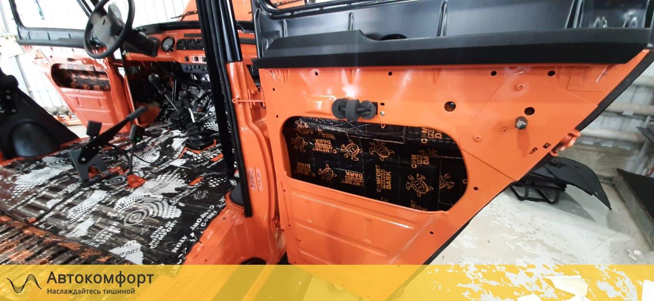 Шумоизоляция дверей УАЗ Хантер (UAZ Hunter)