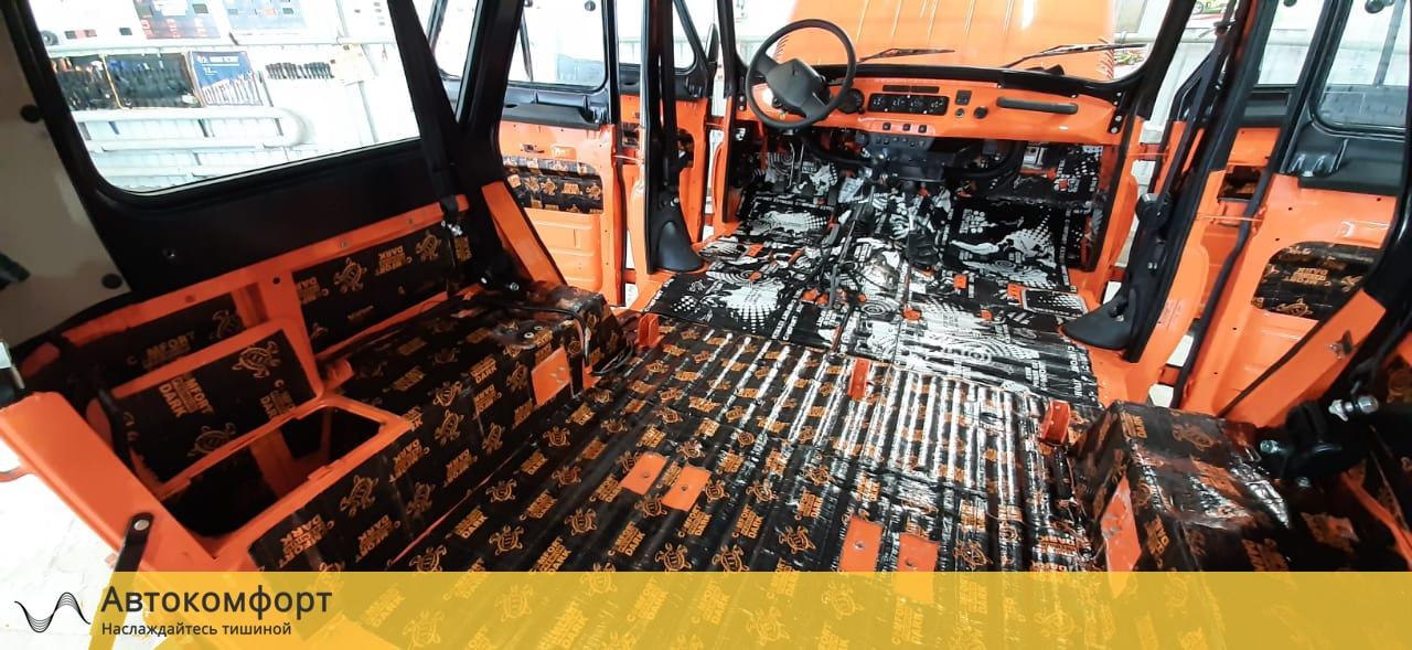 Шумоизоляция багажника УАЗ Хантер (UAZ Hunter)