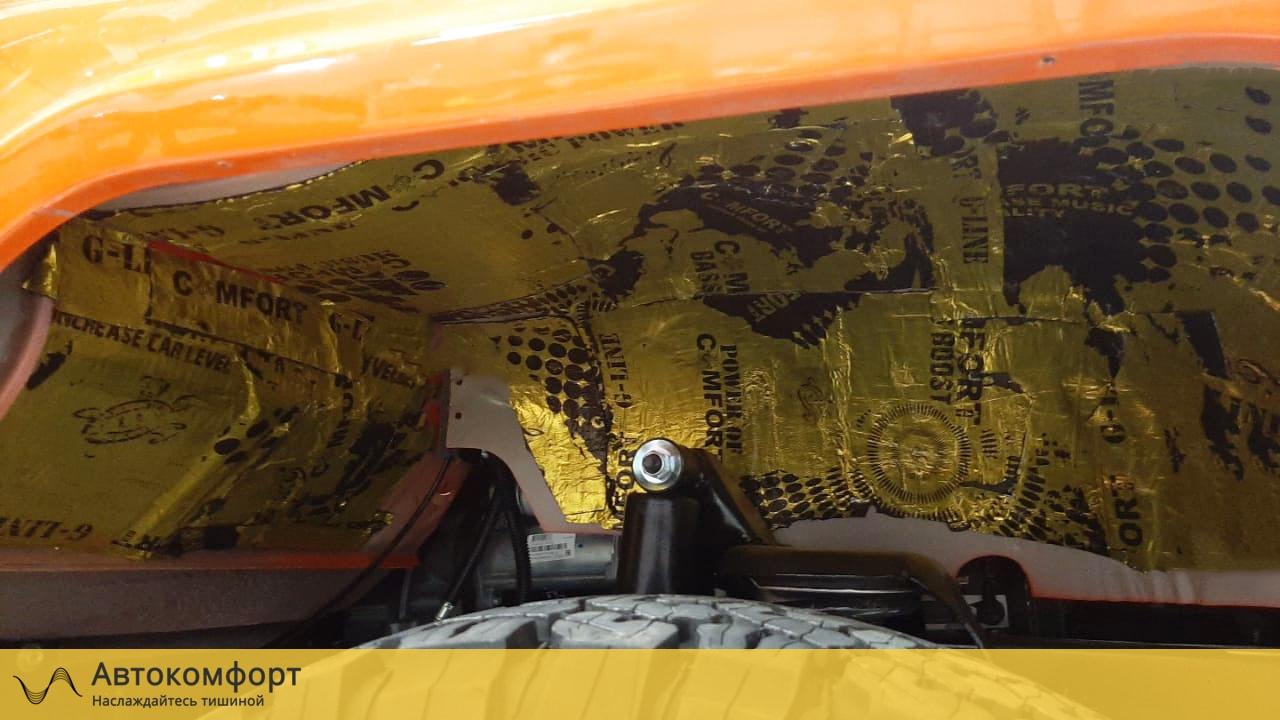 Шумоизоляция арок и подкрылок УАЗ Хантер (UAZ Hunter)