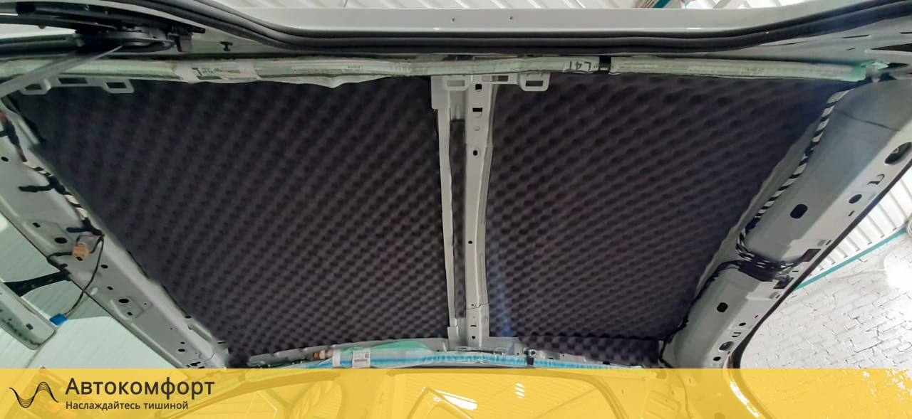 Шумоизоляция потолка (крыши) Volkswagen Golf MK7 | Фольксваген Гольф МК7