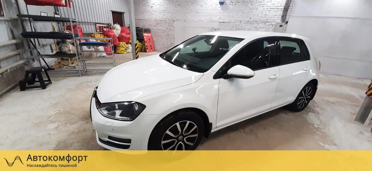 Шумоизоляция Volkswagen Golf MK7 | Фольксваген Гольф МК7