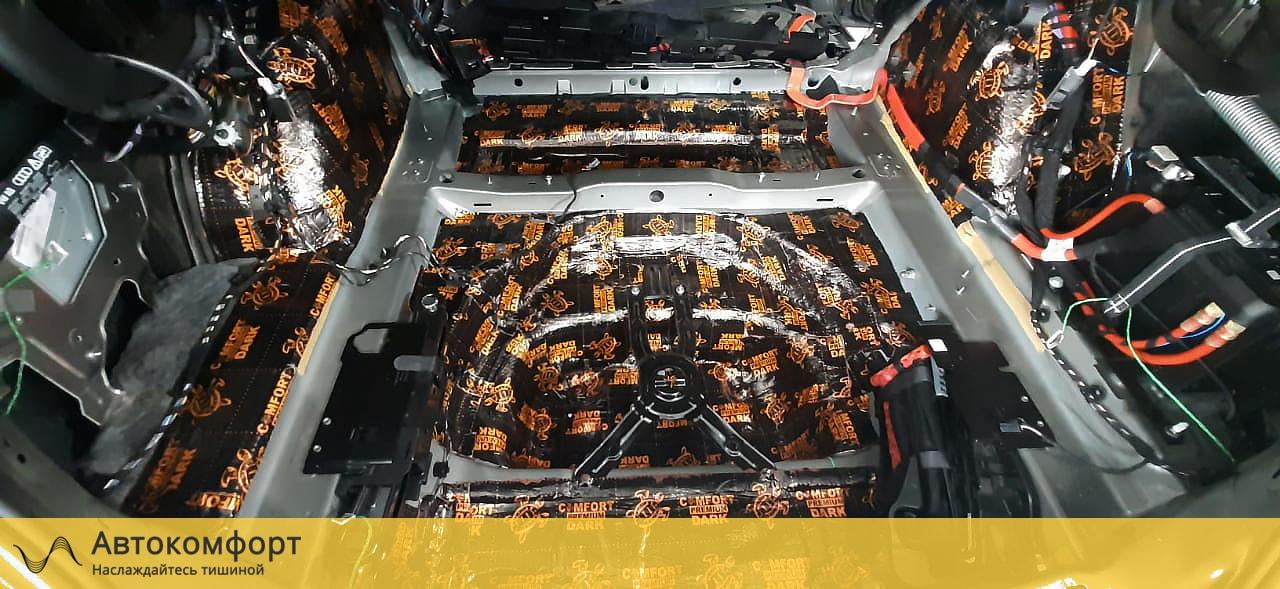 Шумоизоляция багажника Audi A6 C8 (Ауди А6 С8)