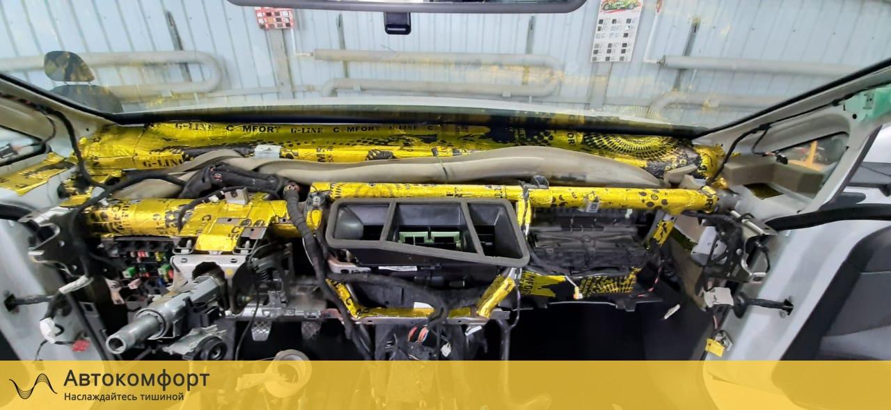 Шумоизоляция торпедо Volkswagen Golf MK7 | Фольксваген Гольф МК7