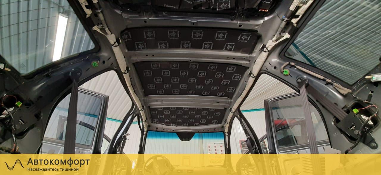 Шумоизоляция потолка (крыши) Volvo XC90   Вольво ХС90