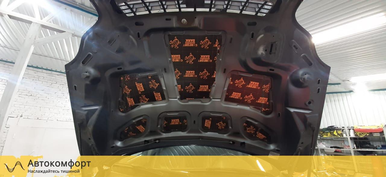 Шумоизоляция капота Volvo XC90   Вольво ХС90