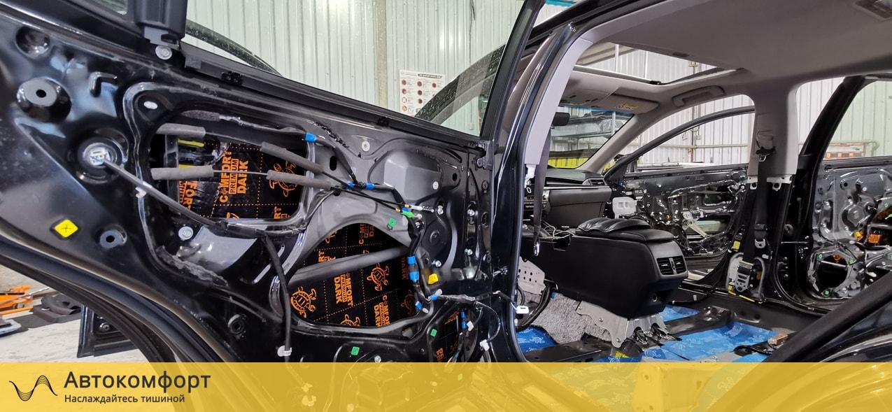 Шумоизоляция дверей Lexus ES 200, 250, 350 | Лексус ЕС 7 VII