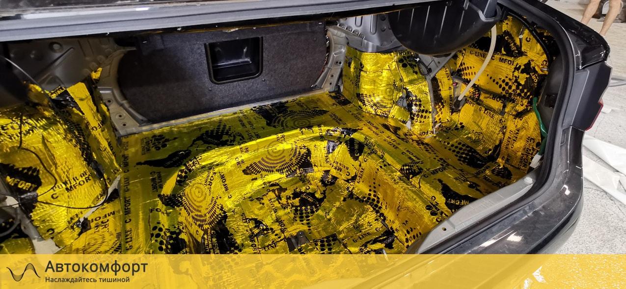 Шумоизоляция багажника Lexus ES 200, 250, 350 | Лексус ЕС 7 VII