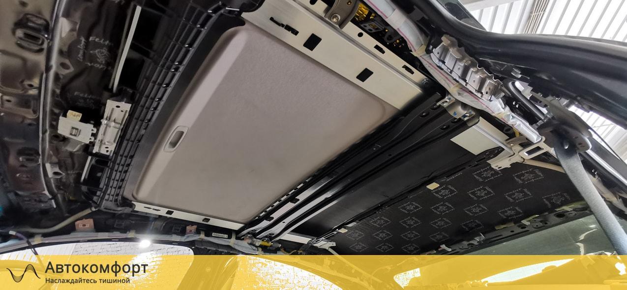 Шумоизоляция потолка (крыши) Lexus ES 200, 250, 350 | Лексус ЕС 7 VII