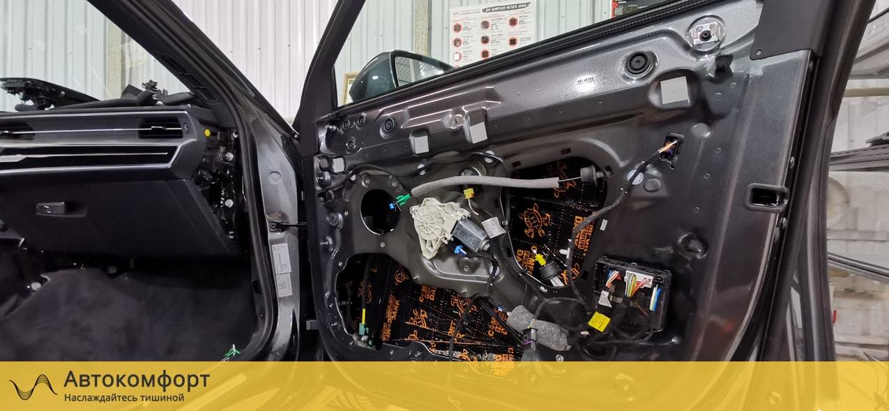 Звукоизоляция дверей Audi A6 C8