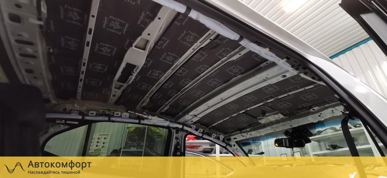 Шумоизоляция крыши (потолка) KIA K5 (КИА К5)