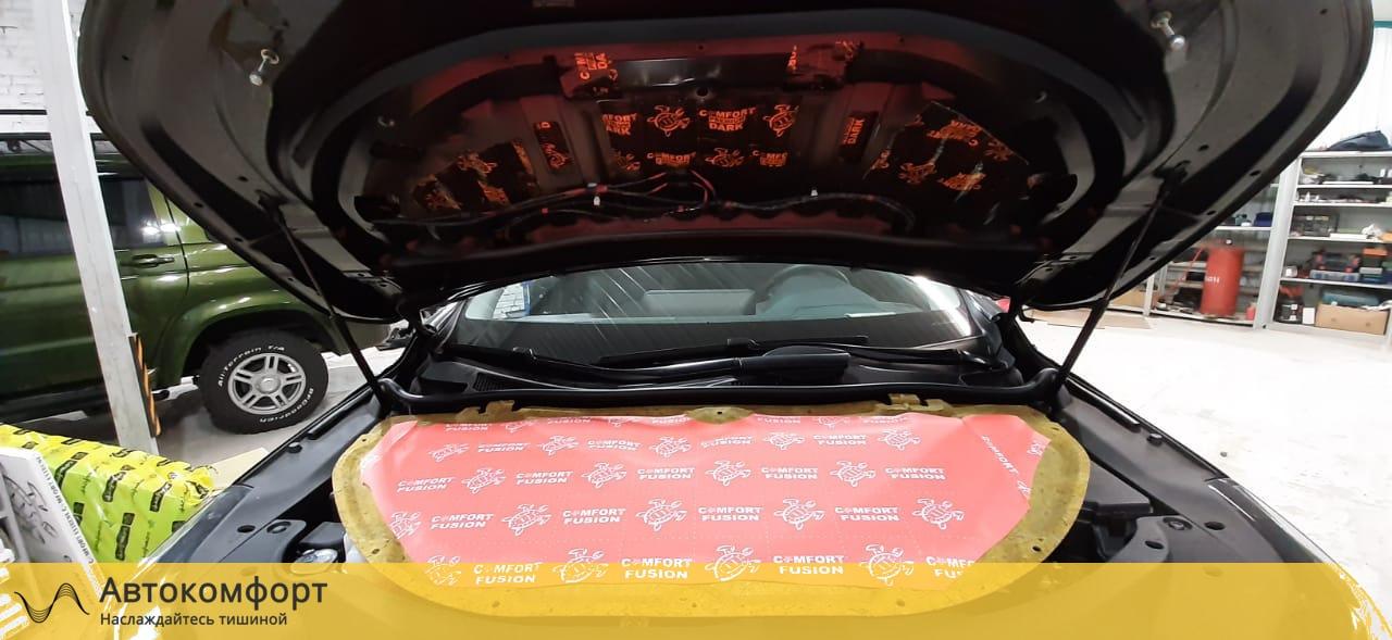 обработка капота Lexus R