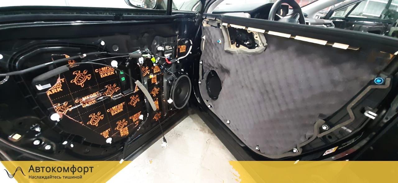 Шумоизоляция дверей Lexus RX 200, 270, 300 | Лексус РХ
