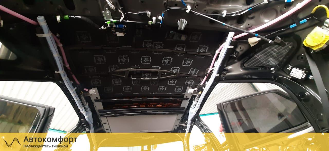 Шумоизоляция крыши (потолка) Lexus RX 200, 270, 300 | Лексус РХ