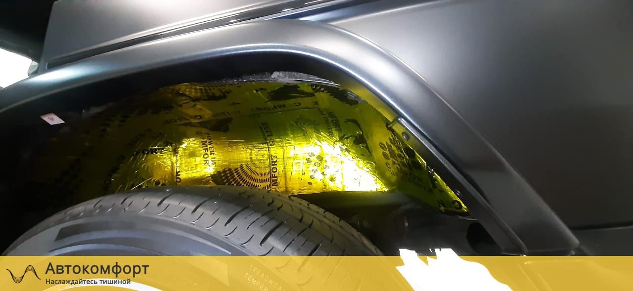 Шумоизоляция арок и подкрылок Mercedes Gelandewagen | Гелик | Гелендваген | G class W463