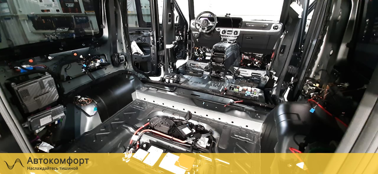 Шумоизоляция Mercedes Gelandewagen | Гелик | Гелендваген | G class W463