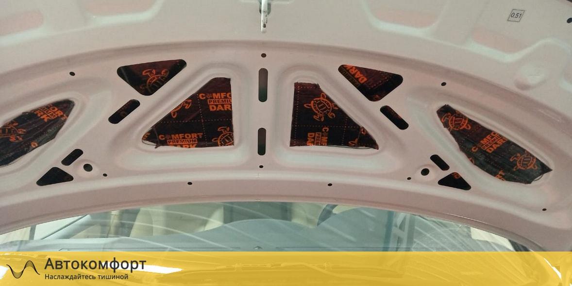Шумоизоляция капота Hyundai Grand Starex H-1 | Хендай Гранд Старекс Х1 | Н1