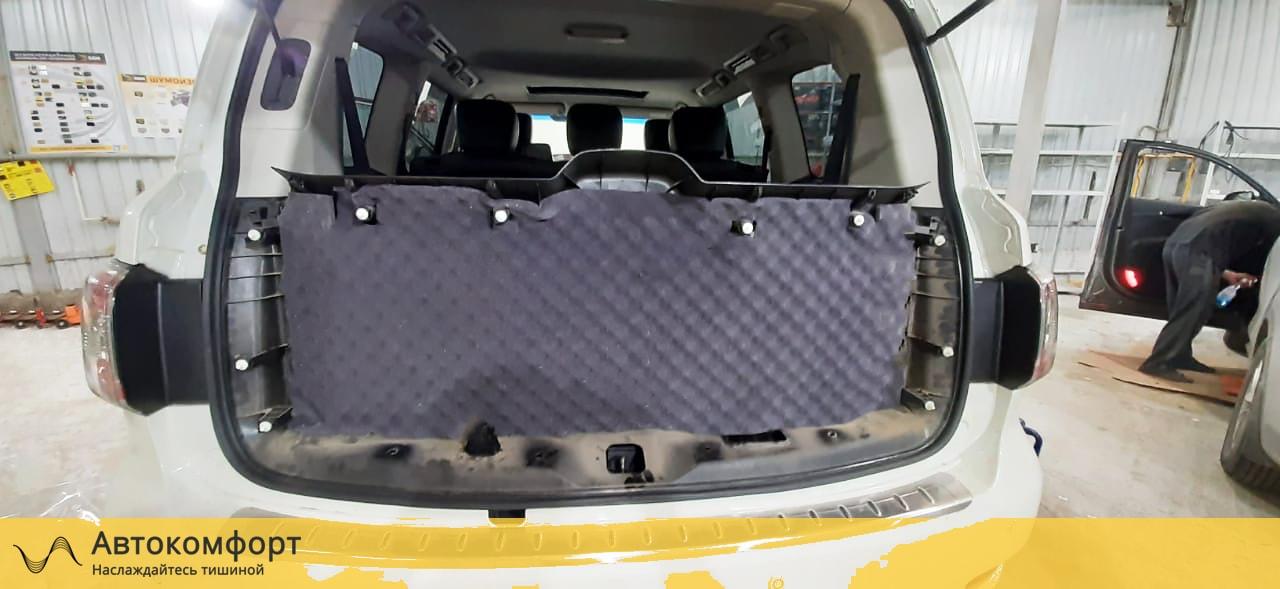 Шумоизоляция Nissan Patrol Y62 | Ниссан Патрол У62