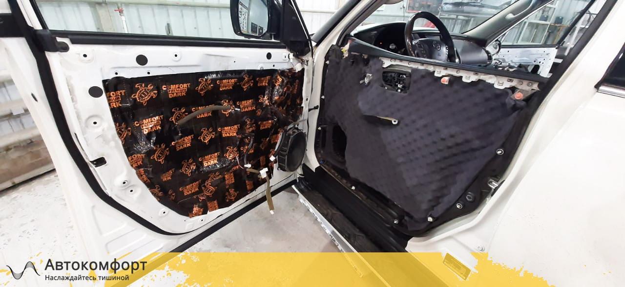 Шумоизоляция дверей Nissan Patrol Y62 | Ниссан Патрол У62