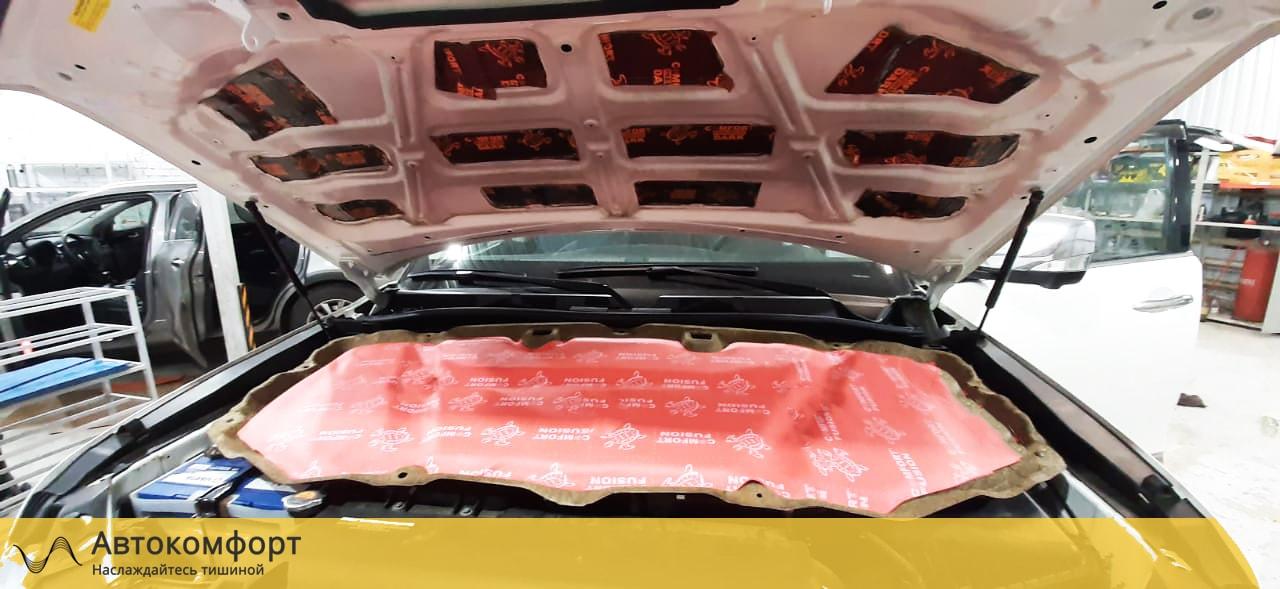 Шумоизоляция капота Nissan Patrol Y62 | Ниссан Патрол У62