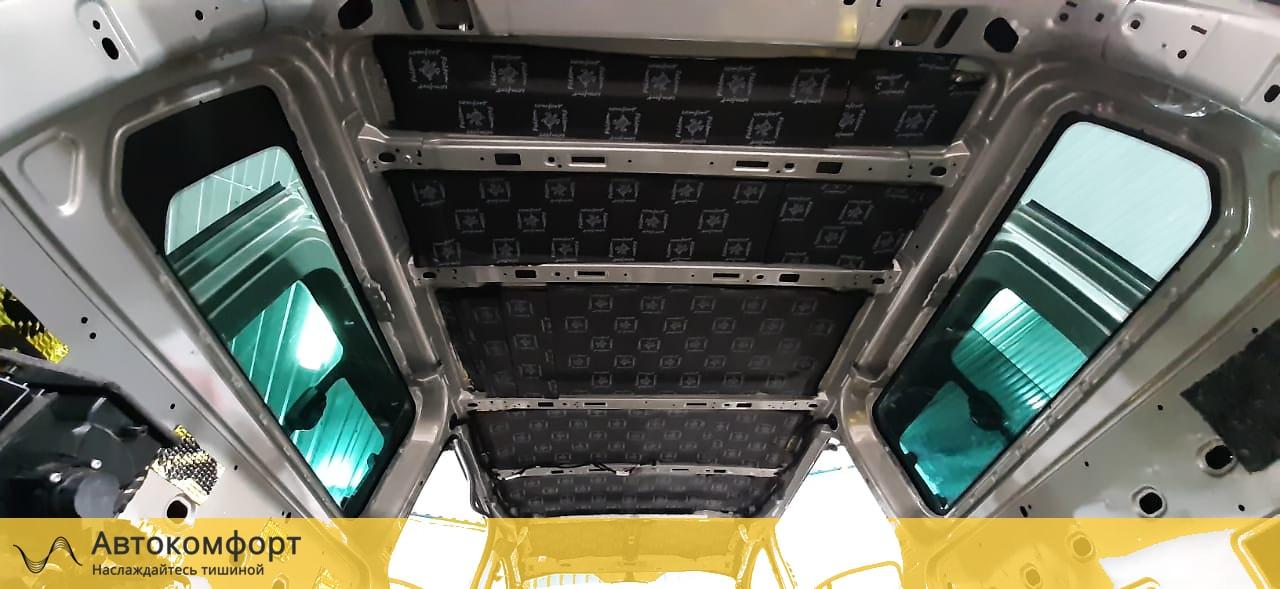Шумоизоляция крыши (потолка) Ford Tourneo Custom | Форд Торнео Кастом