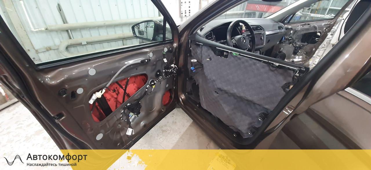 Шумоизоляция дверей Volkswagen Tiguan II (Фольксваген Тигуан 2)