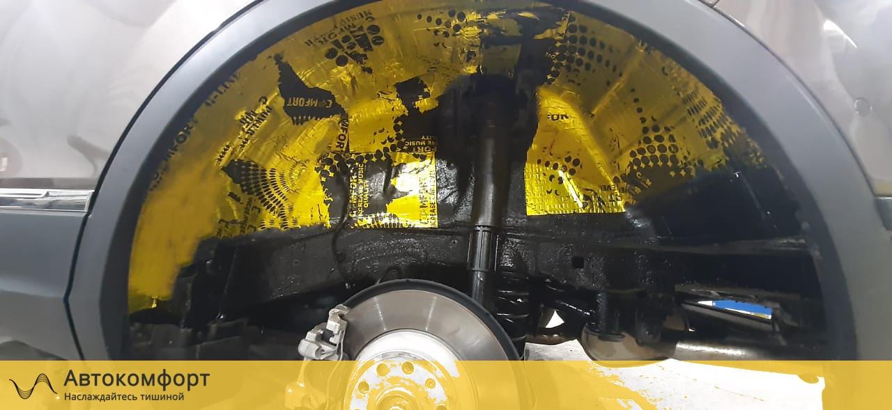 Шумоизоляция арок и подкрылок Volkswagen Tiguan II (Фольксваген Тигуан 2)
