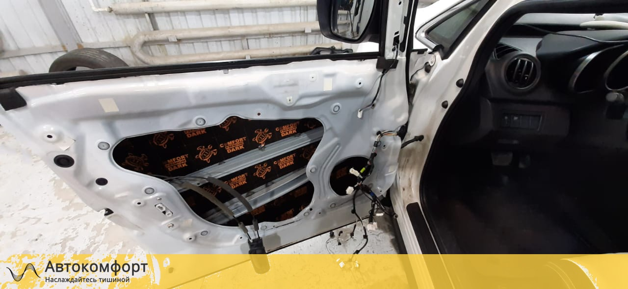 Шумоизоляция дверей Mazda CX 7 (Мазда СХ 7)