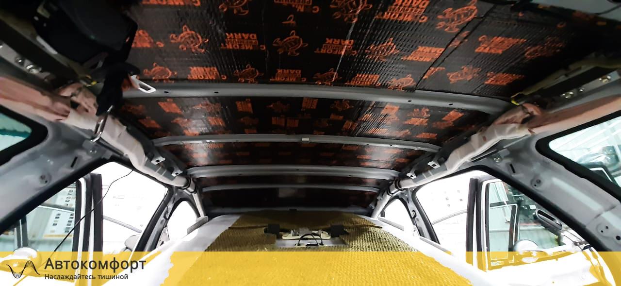 Шумоизоляция крыши (потолка) Mazda CX 7 (Мазда СХ 7)