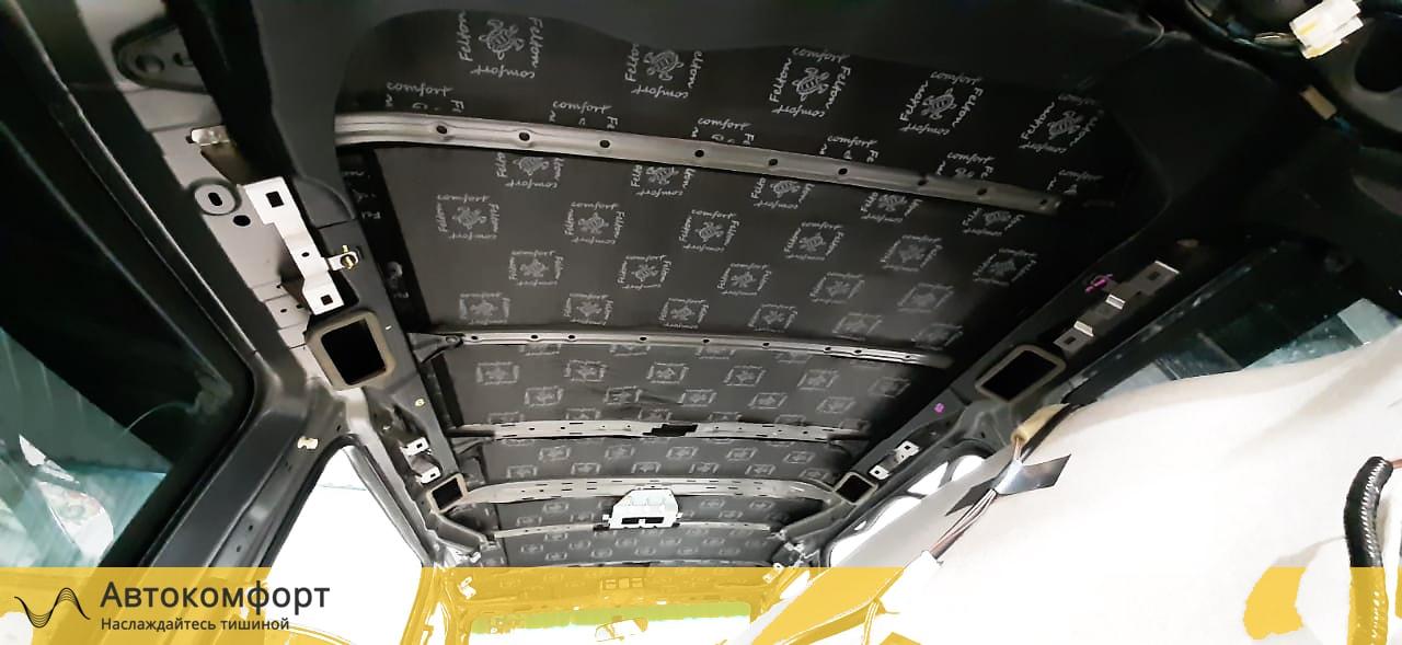 Шумоизоляция крыши (потолка) Honda Stepwgn V (Хонда Степвагон 5)
