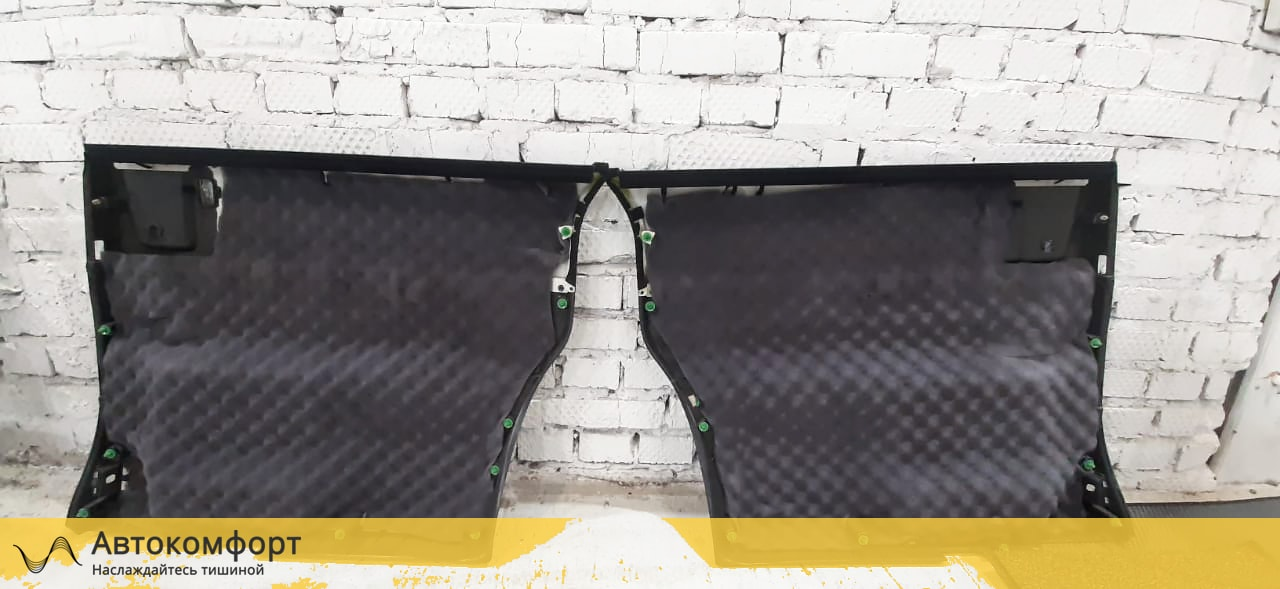 Шумоизоляция дверей Honda Stepwgn V (Хонда Степвагон 5)