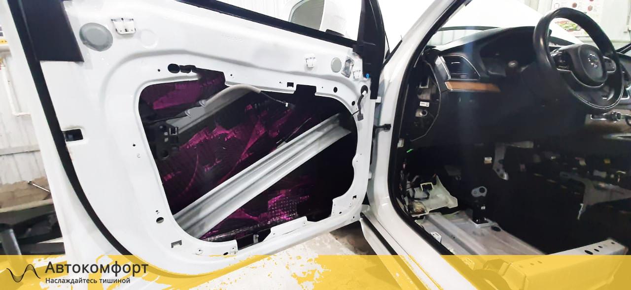 Шумоизоляция дверей Volvo XC90 II | Вольво ХС90 2 поколения