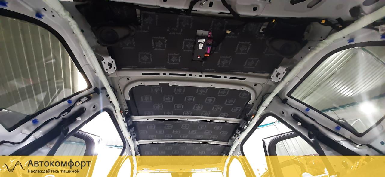 Шумоизоляция крыши (потолка) Volvo XC90 II | Вольво ХС90 2 поколения