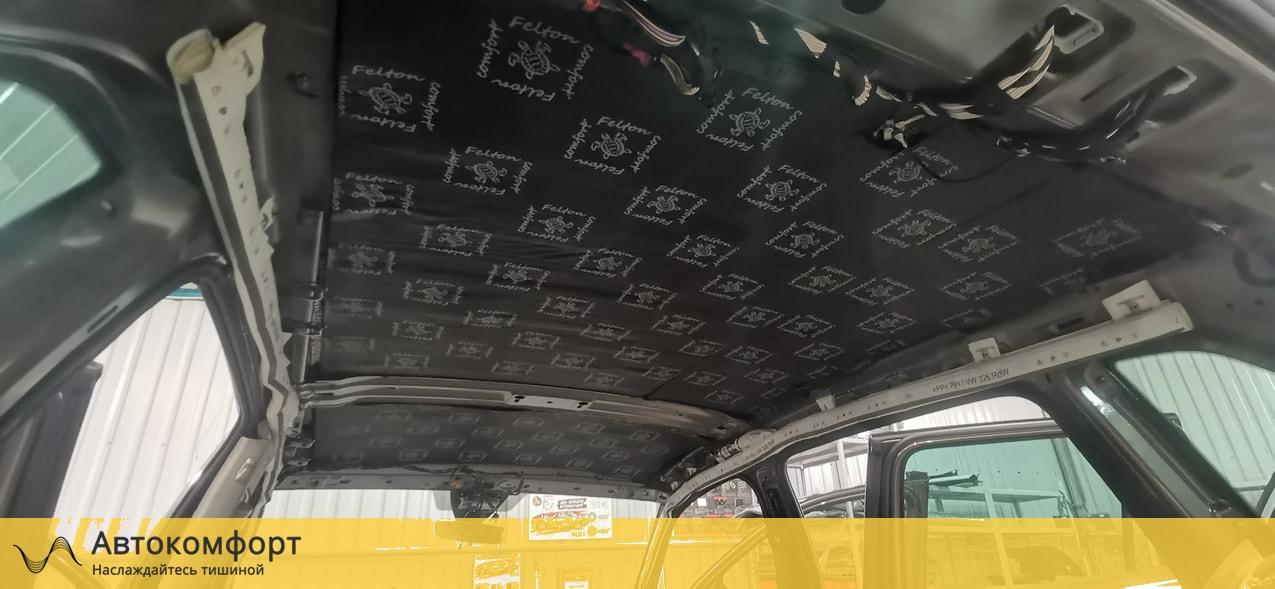 Шумоизоляция крыши (потолка) Volkswagen Tiguan II (Фольксваген Тигуан 2)