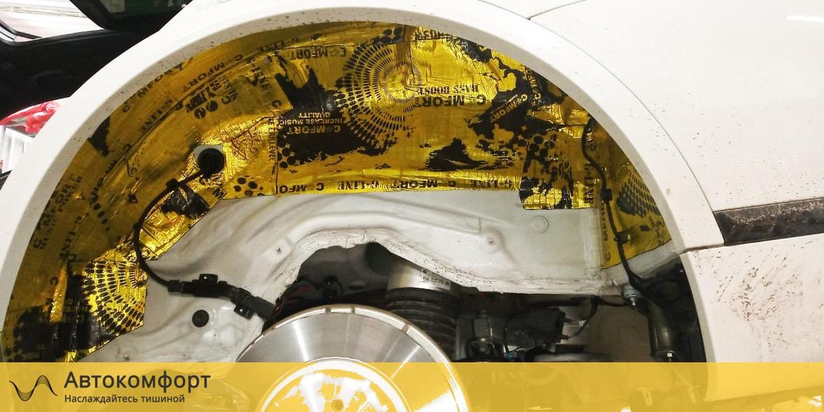 Шумоизоляция арок и подкрылок BMW X7 G07 (БМВ Х7 Г07)