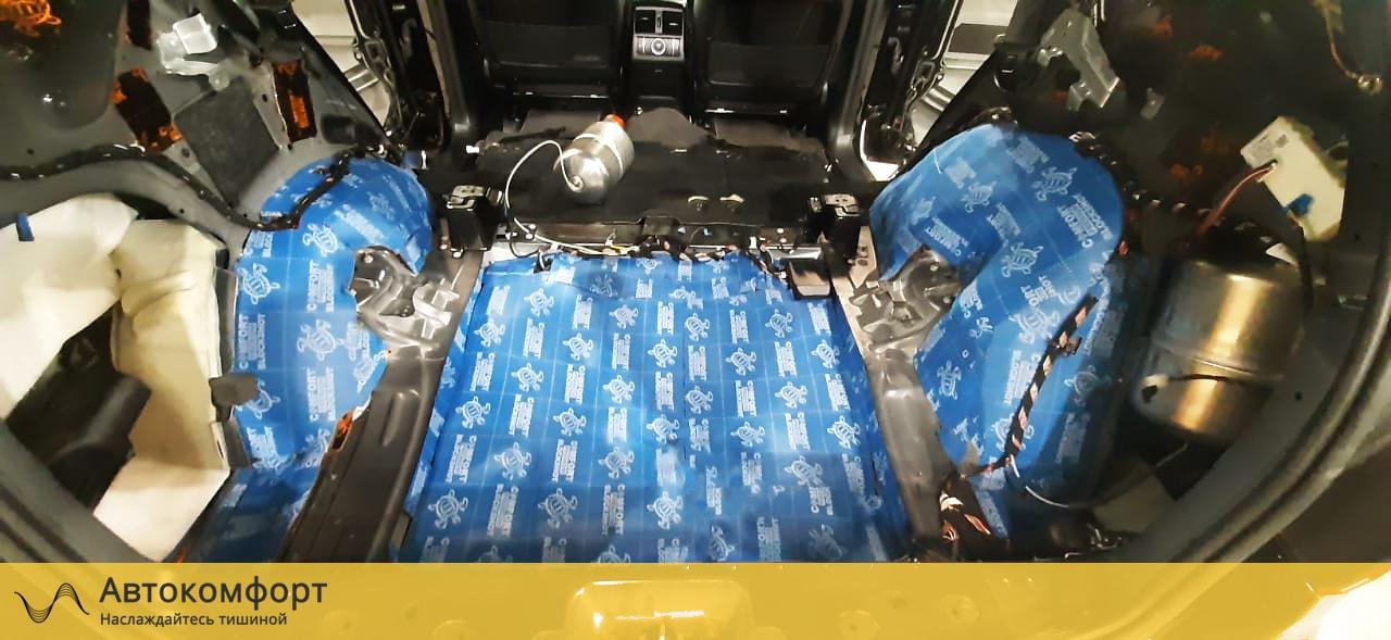 Шумоизоляция багажника Mercedes GLE W166 | Мерседес ГЛЕ
