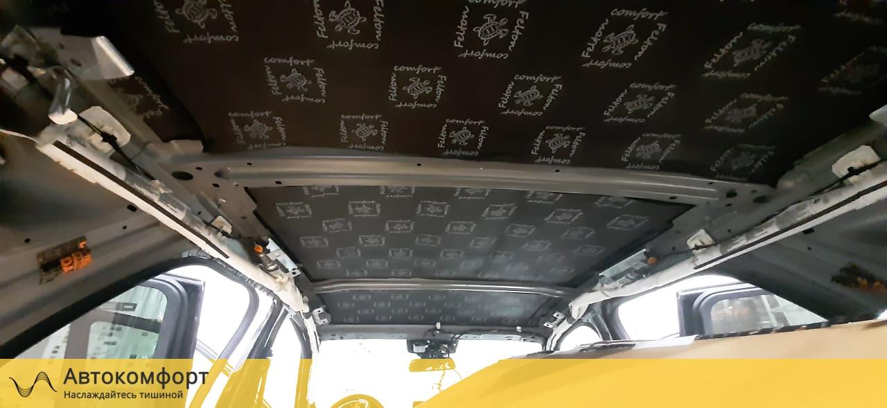 Шумоизоляция крыши (потолка) Mercedes GLE W166 | Мерседес ГЛЕ