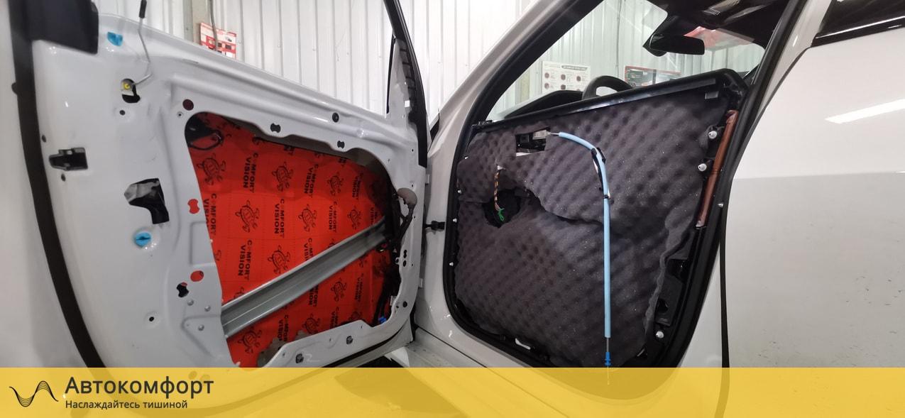 Шумоизоляция дверей BMW X7 G07 (БМВ Х7 Г07)