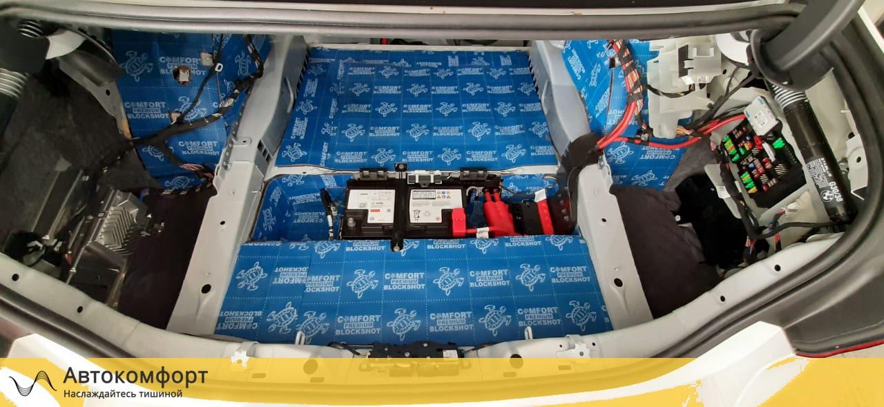 Шумоизоляция багажника BMW 5 series G30 (5 серии Г30)