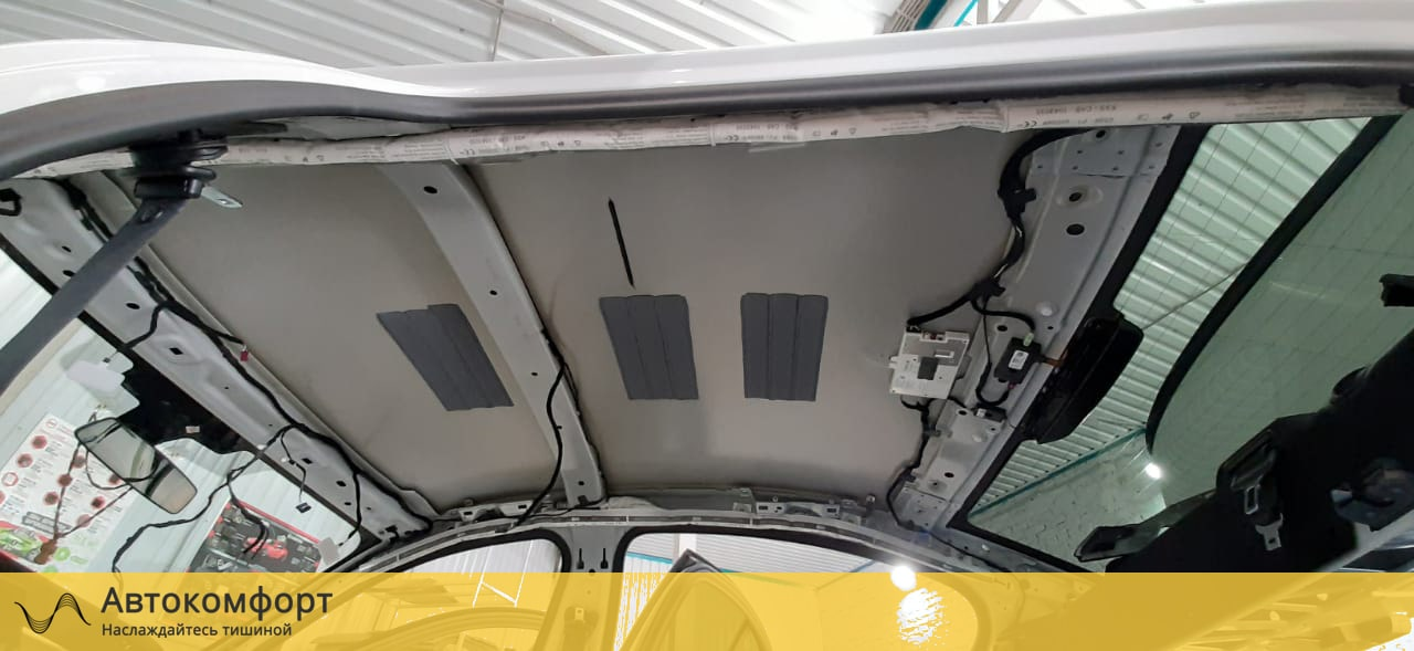 Шумоизоляция крыши (потолка) BMW 5 series G30 (5 серии Г30)