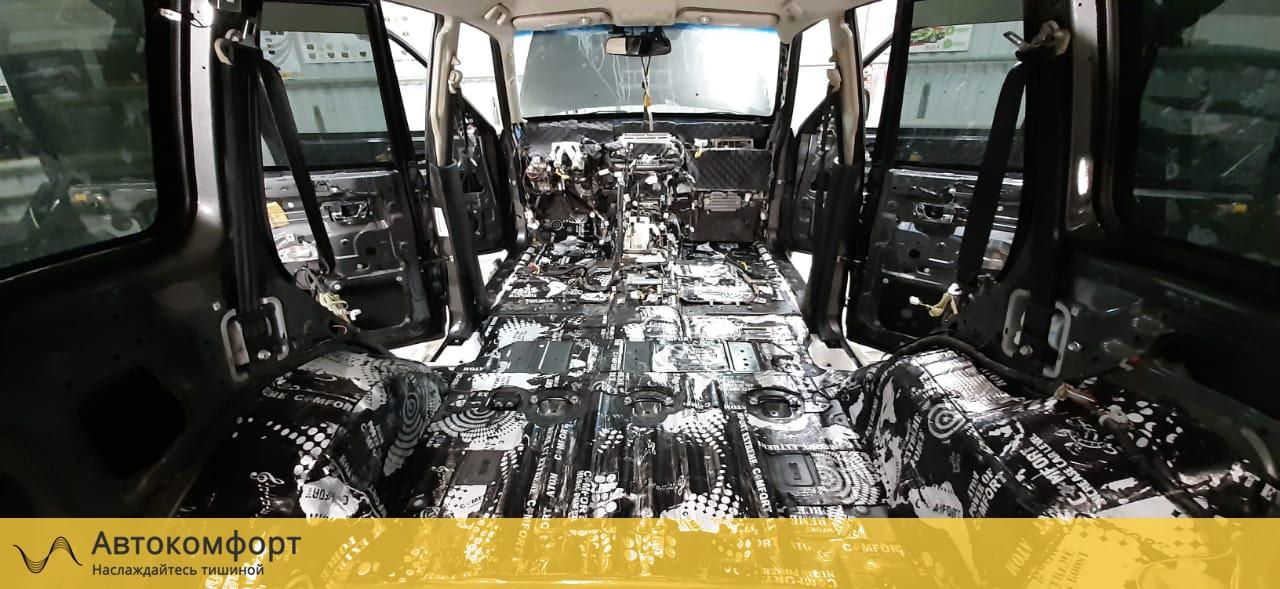 Шумоизоляция багажника Mitsubishi Pajero 4