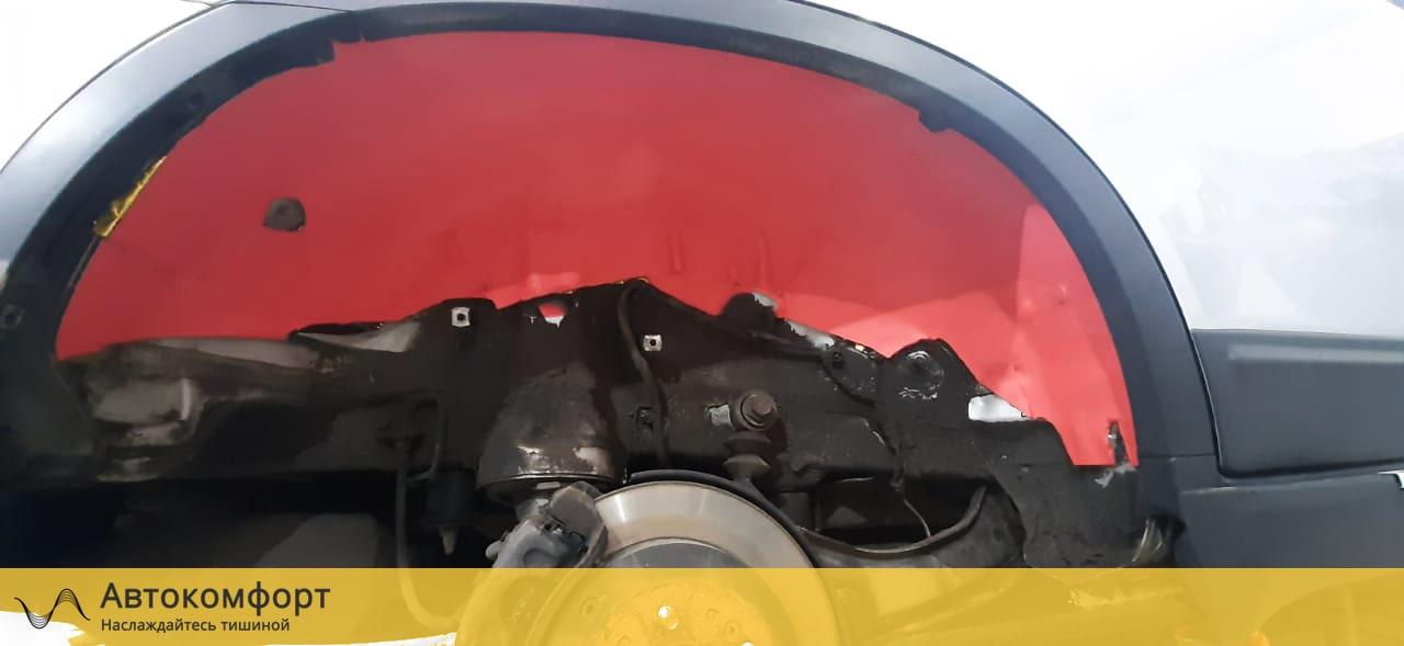 Шумоизоляция арок и подкрылок Kia Sorento 2 (КИА Соренто)