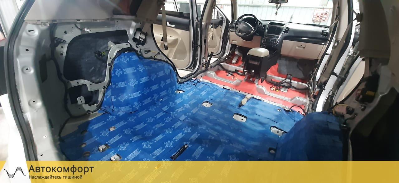 Шумоизоляция багажника Kia Sorento 2 (КИА Соренто)