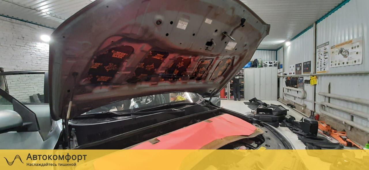 Шумоизоляция капота Toyota Rav 4 (3 поколения)