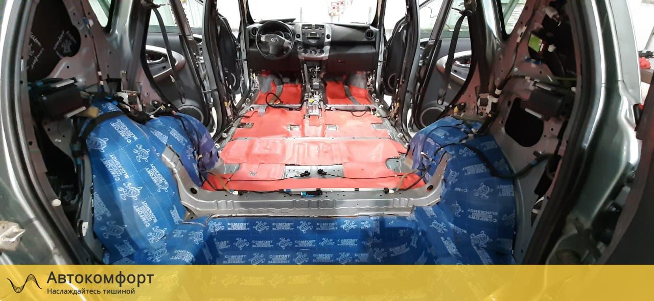 Шумоизоляция багажника Toyota Rav 4 (3 поколения)