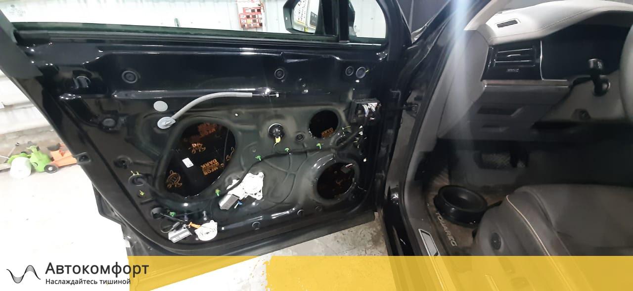 Шумоизоляция дверей Volkswagen Touareg 3