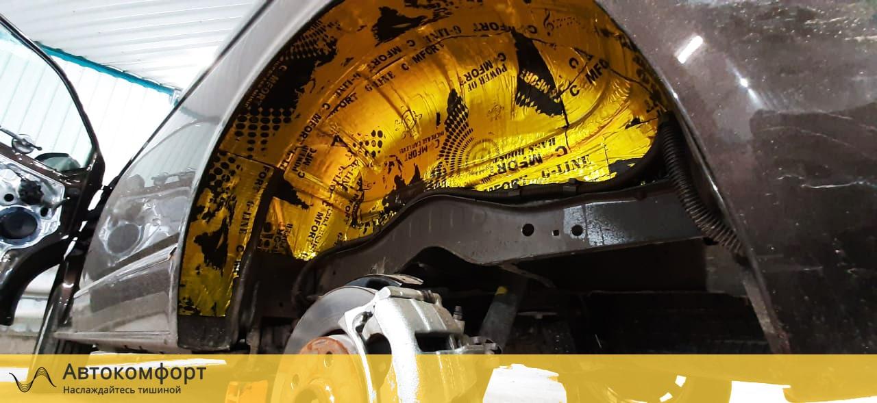 Шумоизоляция арок и подкрылок Volkswagen Caravelle T5/T6.1