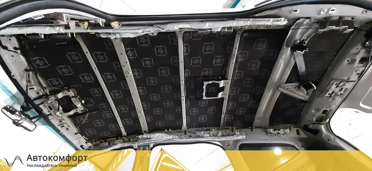 Шумоизоляция крыши Mitsubishi Pajero Sport 3