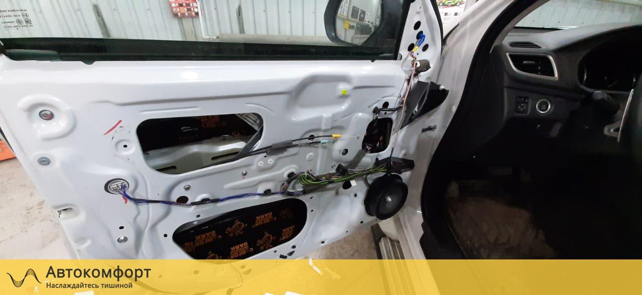 Шумоизоляция дверей Mitsubishi Pajero Sport 3