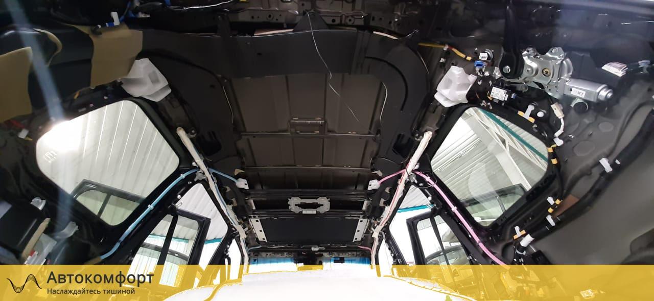 обесшумка крыши Land Cruiser 200